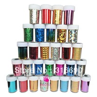 Very popular Hot selling Transfer Foils Nail Sticker for nail art 12 pieces/lot (46 colors to choose)