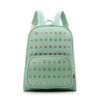 2013 rivet lovers backpack for girl  trend of the backpack vintage fashion korean backpack women school bag