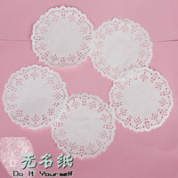 SS016 Vintage White Hollowed Lace Pattern Paper Crafts for DIY Scrapbooking/Card Making/Wedding Decoration