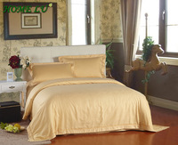 Free Shipping 5 star hotel  cotton and silk  bedding set 6 piece set holiday Inn bed linen royal quality (YH7)