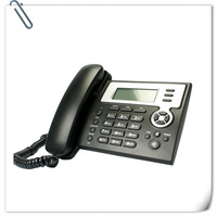 Free shipping by China post Air parcel,Super low cost VoIP Phone, 2 SIP lines,hot sale for home and small office users