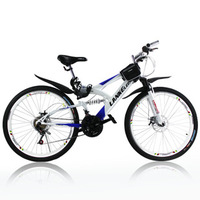 Lankeleisi mountain bike double shock absorption 21 double mountain bike disc brakes road bike