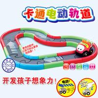 Electric magic cartoon car multicolour 6063 child track toy