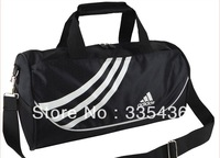 New  2013 Hot Selling ,High Quality two colors Preppy Style Waterproof nylon Barrel big size travel bag,Free Shipping,LYD24