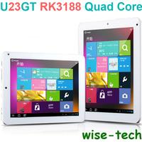 SG Post Free Shipping 8'' Upgraded Cube U23GT Quad Core Rk3188 Tablet PC Wifi Camera 1GB RAM 16GB ROM 1024*768 / Blake