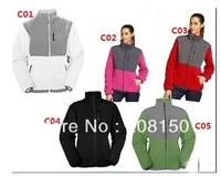Fashion female models Fleece Jacket parka  WOMens gray Jacket  S--XXL