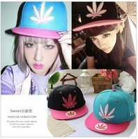2013 New Arrival DGK I Love Weed Leaf Snapback Hats Unisex Caps Snapbacks Hat men for women Fast Shipping