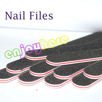 20pcs 100/180 Nail Art Files Buffer Buffing Sandpaper Manicure tool Free Shipping SKU:35