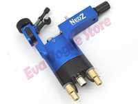 NEDZ Blue Color Rotary Tattoo Machine Gun Stigma Powerfull RAC Clip Cord Dampening Micro TZ  Aluminium Alloy Tattoo Machine Gun