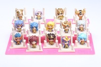 Cheap Saint Seiya Gold Saint full article Zodiac hand to do Q version scene models anime doll gift