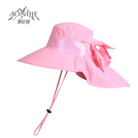 New arrival summer outdoor women's big along sunbonnet anti-uv ty001