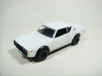 4 kyosho kpgc110 skyline gtr car model box