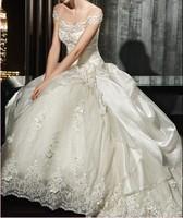 free shipping tulle lace bandage dress Sexy 2014 brides maid Neu traumhaftes Hochzeit Brautkleid in rhinestone wedding dress