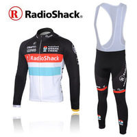 2012 trek radioshack trek suspenders long-sleeve ride service set spring and autumn Men bicycle clothing