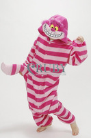New Adult Unisex Kigurumi Pajamas Cosplay Onesies Japan Anime Costumes Cute Cheshire Cat Cartoon Animal Pyjamas For Women