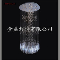 Fashion pendant lamp living room lights crystal lamp brief pendant light villa lamp stair lamp lamps
