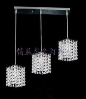 Pendant lamp crystal lamp modern brief fashion lamps hanging wire height adjustable