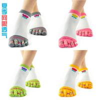 Free shipping 4pairs/lot Summer female thin mesh 100% cotton Women  points short ankele toe socks b26