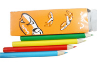 Customized paper color box packed pencils,LH-033