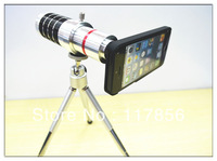 Factory price!!!  hot sale16x Camera Zoom optical Telescope telephoto Lens  for apple  iphone5 gift DHL free shipping