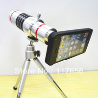 10pcs/lot hot sale18x Camera Zoom optical Telescope telephoto Lens  for apple for iphone5 DHL free shipping