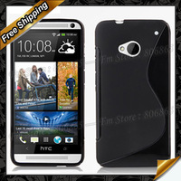 One MAX 5.9 T6 S-Stype case, Anti-skid design S Line Soft TPU Case For HTC One MAX 5.9 T6 By DHL Free Shipping