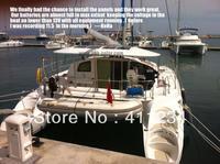 80w photovoltaic solar PV panels,semi flexible solar module,sunpower cell,marine PV PANEL ,high efficiency,Yacht,boat,Caravan