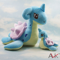Japan Anime Cartoon Character 2013 Hot sale Free shipment Pokemon Plush Toy Lapras