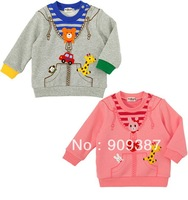 2013 new autumn children clothing ,fashion children/boy's/girl's warmTerry sweatshirts ,cute Long-sleeved  t-shirt ,base shirt