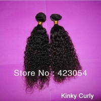 "6A virgin hair mongolian Kinky Curly 3pcs & 4pcs lot mix lengths 12-30"" unprocessed hair best quality free shipping"