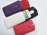 HKP ePacket Free Shipping Leather Pouch phone bags cases for fly iq441/ gn700 Cell Phone Accessories