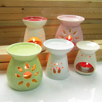 Ceramic aromatherapy lamp candle aromatherapy furnace incense oil lamp aroma furnace full-body fresh series of small home