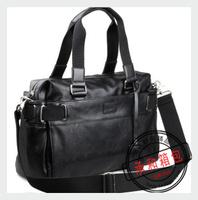 Fashion bag men's handbag messenger bag leather laptop bag men travel bag