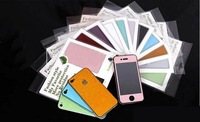 Mobile body protector, Bling bling, multicolors, Compatible for Iphone 4/4s,With package,Free shipping