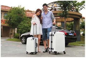 Aluminum frame universal wheels trolley luggage travel bag luggage 22 26 28