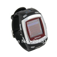 Free Shipping MP3/MP4/Bluetooth/Music Watch Mobile Phone Black wrist phone watch phone TT1