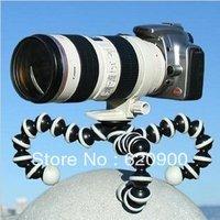 100% GUARANTEE 10x L Big Size Octopus Flexible Tripod Bracket Stands for miniature Camera DV new