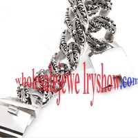 Fashionable Style Twinkling Flower Pattern Stainless Steel Textured Bracelets Charms