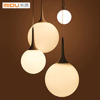 Medium-large ! modern brief balcony stair dining room pendant light single head