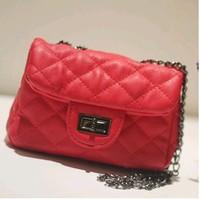 designer brand name clutch bag women handbag genuine leather handbags high quality pu women messenger bag black chain bag Famous
