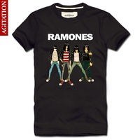 blusas man summer 2014 100% cotton RAMONES famous band rock for boss original cheap clothing men for lovers t shirt tee reserva