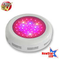Fedex Free Shipping, 135w LED Grow Light UFO (45x3w), Red&Blue, 3w chip epistar leds, 3years warranty