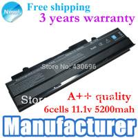 black  Laptop battery for ASUS Eee PC1015P VX6 1011C 1015BX 1015PD 1015PN 1215N 1215T A31-1015 A32-1015 1016PE R0 R051PX R051