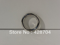 "1 "" Nickel Alloy Silver Finish Spring Gate O Ring/Carabiner"