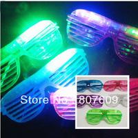 Wholesale Hot sale Shutters Shape LED Flash Glasses For Dances / Party Supplies Decoration Glow Mask Christmas Halloween