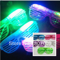 Wholesale Hot sale Shutters Shape LED Flash Glasses For Dances / Party Supplies Decoration Glow Mask Christmas Halloween