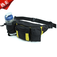Outdoor hiking water bottle waist pack multifunctional running sports waist pack male casual women's hiking travel waist pack