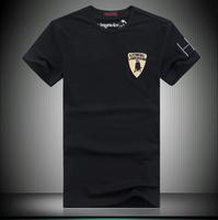 2013 summer male short-sleeve o-neck T-shirt slim clothes male t-shirt plus size clothing plus size men's