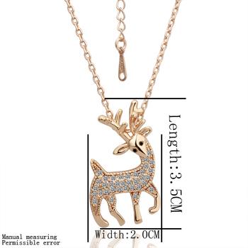 2014 new  crystal  plating Rose gold with gem-set rosarys fake gold chainsnecklace vintage pocket watch
