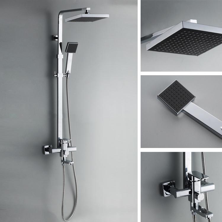 Online kopen wholesale vierkante douche eenheden uit china vierkante douche eenheden groothandel - Eigentijdse douche ...